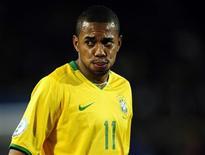 <p>Robinho fica fora do Man City por pelo menos mais duas semanas REUTERS/Dylan Martinez (SOUTH AFRICA SPORT SOCCER)</p>