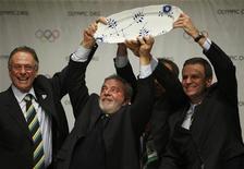 <p>Votação folgada garantiu ao Rio sede da Olimpíada de 2016. REUTERS/Pawel Kopczynski</p>