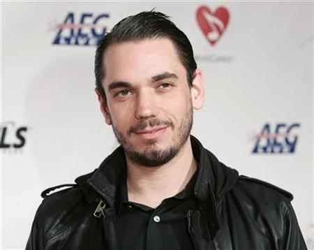 Adam ''DJ AM'' Goldstein arrives for the 2009 MusiCares Person of the Year gala in honor of Neil Diamond in Los Angeles, February 6, 2009. REUTERS/Danny Moloshok