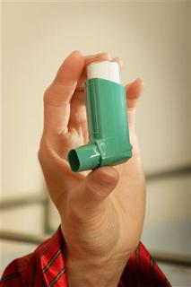 An inhaler is seen in a publicity photo. REUTERS/Newscom
