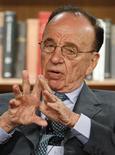 <p>Rupert Murdoch, presidente-executivo da News Corp., estuda sócios para o lançamento de um leitor eletrônico que concorra com o Kindle, da Aamzon.com. REUTERS/Fred Prouser</p>