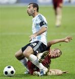 <p>Para o capitão da seleção argentina, Javier Mascherano, atuar na Olimpíada não tem preço REUTERS/Denis Sinyakov (RUSSIA SPORT SOCCER)</p>