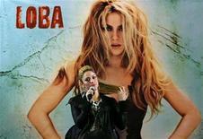 <p>Colombian singer Shakira speaks during a news conference in Bogota October 11, 2009. REUTERS/John Vizcaino</p>