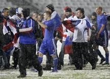 <p>Jogadores da Eslováquia celebram vaga inédita à Copa do Mundo. REUTERS/Peter Andrews</p>