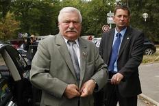 <p>L'ex presidente della Polonia, Lech Walesa. REUTERS/Benoit Tessier</p>