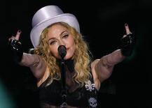<p>Vizinha de Madonna (foto de arquivo) processou a cantora por excesso de barulho. REUTERS/Bogdan Cristel</p>