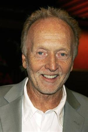 Actor Tobin Bell, who stars as ''Jigsaw'', poses as he arrives at a screening for the cast and crew of his film ''Saw IV'' in Hollywood in this October 23, 2007 file photo. REUTERS/Fred Prouser
