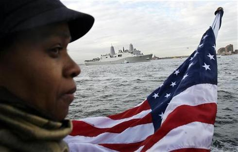 9/11 ship returns home