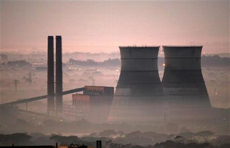 power plant smog