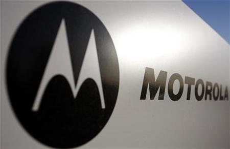 Signage for Motorola is displayed outside their office building in Tempe, Arizona, October 29, 2009. REUTERS/Joshua Lott