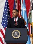 <p>Il presidente americano Barack Obama. REUTERS/Jessica Rinaldi</p>