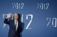 "<p>Roland Emmerich, regista di ""2012"" a Berlino qualche mese fa. REUTERS/Christian Charisius</p>"