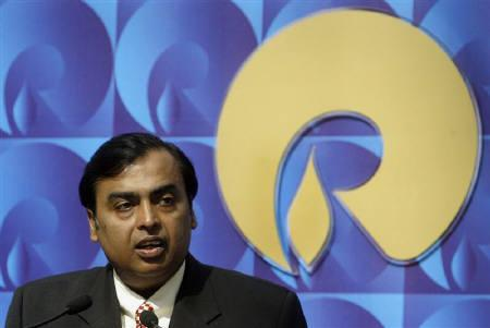 Mukesh Ambani, chairman of Reliance Industries, seen in Mumbai in this September 2008 file photo. REUTERS/Punit Paranjpe