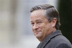 <p>L'ex-PDG de Vivendi Jean-Marie Messier a démenti avoir voulu tromper les actionnaires dans le procès qui s'est ouvert contre lui et d'anciens dirigeants du groupe aux Etats-Unis. /Photo d'archives/REUTERS/Charles Platiau</p>