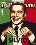 """<p>Primeiro-ministro italiano Silvio Berlusconi é representado na capa da revista """"Rolling Stone"""" italiana deste mês REUTERS/Divulgação</p>"""
