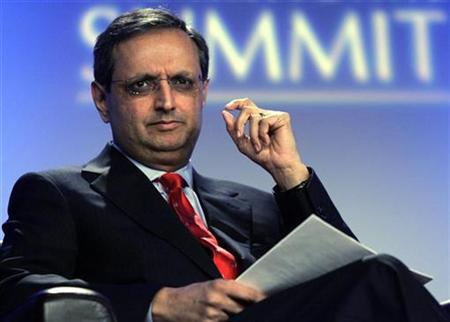 Citigroup CEO Vikram Pandit takes part in a panel discussion about manufacturing during The National Summit at the Renaissance Center in Detroit, Michigan June 15, 2009. REUTERS/Rebecca Cook