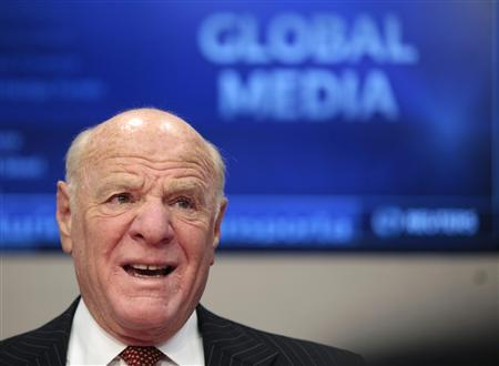 CEO of of IAC/InterActiveCorp, Barry Diller, speaks at the Reuters Global Media Summit in New York December 2, 2009. REUTERS/Lucas Jackson