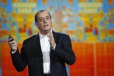 <p>L'AD di Intel Paul Otellini durante un evento a Las Vegas. REUTERS/Rick Wilking</p>
