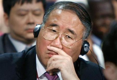 Xie Zhenhua, China's top climate envoy, attends the opening ceremony of the UN Climate Change Conference 2009 in Copenhagen in this picture taken December 7, 2009. China urged President Barack Obama to increase a U.S. offer to cut carbon emissions but Zhenhua indicated willingness on December 9, 2009 to compromise at a U.N. conference in Copenhagen. Picture taken December 7, 2009. REUTERS/Bob Strong