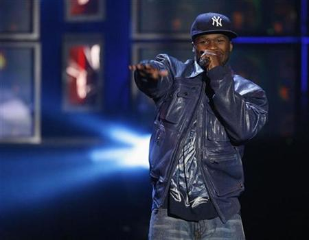 50 Cent performs at the MTV Los Premios 09 awards in Los Angeles, California October 15, 2009 file photo. REUTERS/Mario Anzuoni