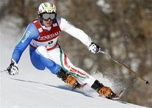 <p>Lo sciatore italiano Werner Heel. REUTERS/Denis Balibouse (FRANCE SPORT SKIING)</p>