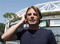 <p>Il ciclista Danilo Di Luca. REUTERS/Alessandro Bianchi</p>