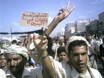 <p>Una manifestazione in Yemen. REUTERS/Stringer</p>