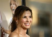 "<p>Cast member Sandra Bullock attends the premiere of the movie ""All About Steve"" at the Mann Chinese theatre in Hollywood, California August 26, 2009. The movie opens in the U.S. on September 4. REUTERS/Mario Anzuoni</p>"