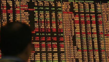 An investor monitors stock market prices in Kuala Lumpur January 6, 2010. REUTERS/Bazuki Muhammad