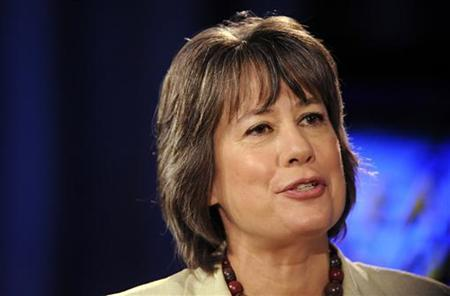Chairman of the Federal Deposit Insurance Corporation (FDIC) Sheila Bair speaks at the Women's Conference 2009 in Long Beach, California October 27, 2009. REUTERS/Phil McCarten