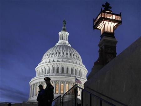 The U.S. Capitol Dome on Capitol Hill in Washington, January 14, 2010. REUTERS/Larry Downing