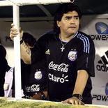 <p>O técnico da seleção da Argentina, Diego Maradona, em foto de arquivo. REUTERS/Javier Martino</p>