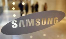 <p>Il logo di Samsung Electronics. REUTERS/Jo Yong-Hak (SOUTH KOREA - Tags: BUSINESS)</p>