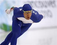 <p>Fabris durante l'allenamento. REUTERS/Jerry Lampen (CANADA)</p>