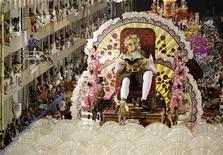 <p>União da Ilha abre desfiles do Grupo Especial do Carnaval do Rio de Janeiro com enredo sobre Dom Quixote. REUTERS/Ricardo Morae</p>