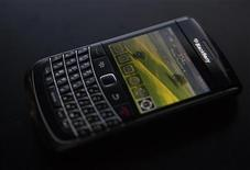 <p>BlackBerry in foto d'archivio. REUTERS/Mark Blinch</p>