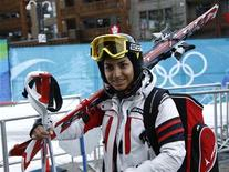 <p>La sciatrice iraniana Marjan Kalhor. REUTERS/Leonhard Foeger</p>