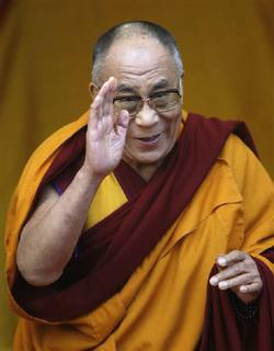 Tibetan spiritual leader the Dalai Lama is seen in a November 11, 2009 file photo in Tawang in Arunchal Pradesh. U.S. President Barack Obama's meeting with the Dalai Lama on Thursday comes at a time of increased tension between the United States and China, which has warned that the get-together will hurt Sino-U.S. ties. REUTERS/Adnan Abidi/Files