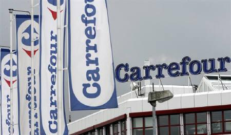A Carrefour supermarket is pictured in Dietlikon outside Zurich in this August 21, 2007 file photo. REUTERS/Siggi Bucher/Files