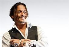 <p>Johnny Depp, uno dei protagonisti di Alice nel paese delle meraviglie REUTERS/Mario Anzuoni</p>