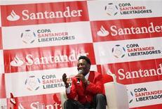 <p>Pelé está no México para promover a Copa Libertadores. 22/02/2010 REUTERS/Claudia Daut</p>