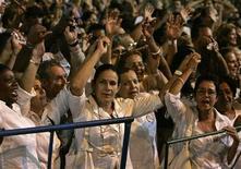 """<p>Membri del gruppo per i diritti umani """"Ladies in White"""" in foto d'archivio. REUTERS/Enrique De La Osa</p>"""