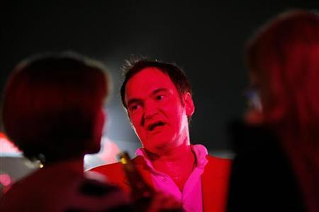Director Quentin Tarantino at a party in Hollywood, September 29, 2009. REUTERS/Mario Anzuoni
