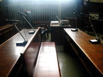 <p>L'aula di un tribunale. REUTERS</p>