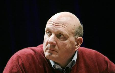 Microsoft CEO Steve Ballmer listens to a question during his keynote address at the Search Marketing Expo in Santa Clara, California March 2, 2010. REUTERS/Robert Galbraith