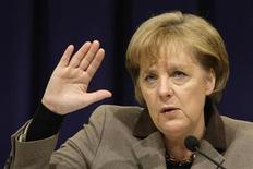 <p>Angela Merkel, cancelliere tedesco, in foto d'archivio. REUTERS/Michaela Rehle</p>