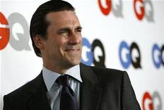 "<p>Actor Jon Hamm poses at the 13th annual GQ magazine ""Men of the Year"" party in Los Angeles November 18, 2008 file photo. REUTERS/Mario Anzuoni</p>"