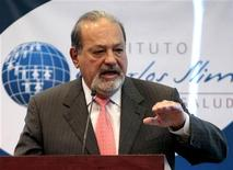 <p>Il miliardario messicano Carlos Slim. REUTERS/Henry Romero (MEXICO - Tags: HEALTH POLITICS BUSINESS)</p>