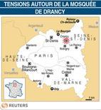 <p>TENSIONS AUTOUR DE LA MOSQUÉE DE DRANCY</p>