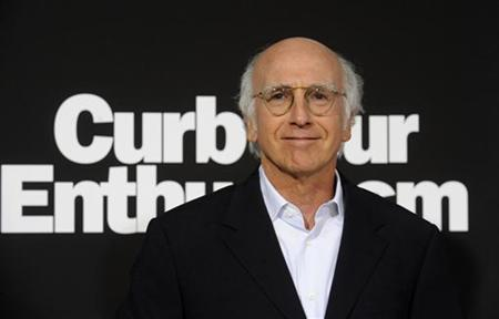 Cast member and creator Larry David attends the premiere of the seventh season of the HBO series ''Curb Your Enthusiasm'' in Los Angeles September 15, 2009. REUTERS/Phil McCarten